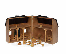Wooden Folding Barn Amish Made in Lancaster County USA Hand Crafted Child Safe