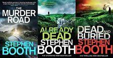 Stephen Booth ___ 3 Libro Juego ___ D S Cooper ___ Nuevo ___ Envío Gratuito GB