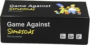 Cards Game Against Simpsons - Contains 600 Cards-AU