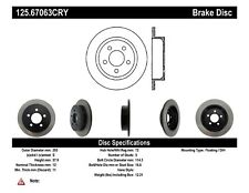 High Carbon Alloy Brake Disc fits 2003-2007 Jeep Liberty Wrangler  CENTRIC PARTS
