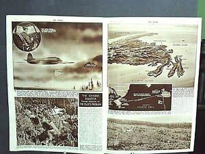 The SPHERE 1946 - Nuremberg Trial, Belgian Skymaster Crash Gander Newfoundland