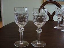 WATERFORD CURRAGHMORE 2 WINES GLASSES 7 1/8""