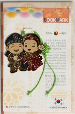 Traditional Korean reader Metal Bookmark - Young kids04