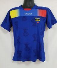 2014 Ecuador World Cup Blue Multi Color FIFA Polyester Size 38/Medium