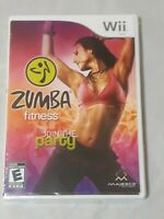 Zumba Fitness Join The Party (Nintendo Wii, 2010) Brand New Sealed No Belt
