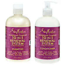 [SHEA MOISTURE] SUPERFRUIT COMPLEX 10 IN 1 RENEWAL SYSTEM SHAMPOO & CONDITIONER