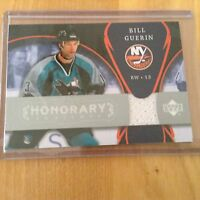 07-08 2007-08 UD TRILOGY BILL GUERIN HONORARY SWATCHES JERSEY BG ISLANDERS