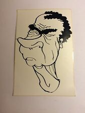 Lot of 3  Richard Nixon Sticker watergate  Vintage /new Drawing Blk & White