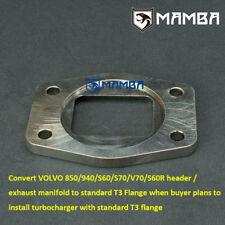 MAMBA Turbo Flange Convert Factory VOLVO 850 940 S70 TD04HL Header to T3