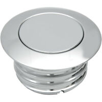 Drag Specialties Chrome Vented Pop-Up Gas Cap for 1996-2017 Harley Models