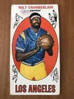 🏀 1969 TOPPS BASKETBALL CARD #1: WILT CHAMBERLAIN - LAKERS - SEE CLOSEUPS!🏀