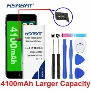 Battery For Phone 6 4100mAh Smartphone With Tool Replace Extended High Capacity