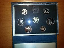 United Kingdom Proof Coin Collection British Royal Mint 1987