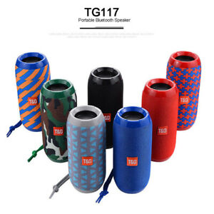 TG Wireless Bluetooth Speaker Waterproof Outdoor Super Bass Stereo USB