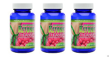 3 X Raspberry Ketone Cleanse Body Detox Weight Loss Diet Colon Support 1600mg