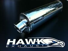 Hawk Suzuki SFV 650 Gladius 2009 Stainless Steel Oval Exhaust Can Silencer SL