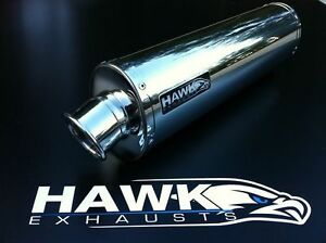 Hawk Triumph 955i 2003 - 2004 Stainless Steel Oval Exhaust Can Silencer SL