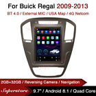 """9.7"""" Tesla Style Android Car Stereo GPS For Buick Regal 2009-2013"""