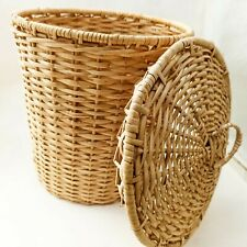 Laundry Basket Cane Products Dustbin Collection Home Applicants laundry Baskets