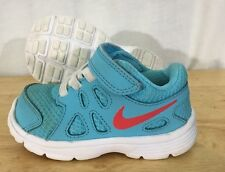 Nike Revolution 2 Shoes Baby Toddler Size 5C Blue Red