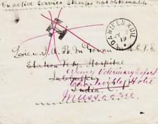 South Africa MILITARY-WWI-ON ACTIVE SERVICE-DANIELSKUIL JY/5/19-NO STAMPS