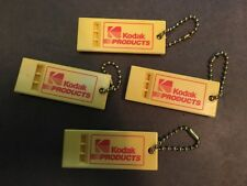 Key Chain, Kodak Whistle, Kodak Advertising, Promotion  lot of 4