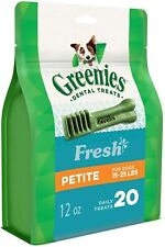 GREENIES™ Fresh Dog Dental Treats - Petite, 12oz (43 treats)