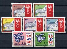 PARAGUAY 1961 Das Vereinigte Europa CEPT 986-992 ** MNH