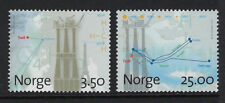 NORWAY :1996 Natural Gas Production at Troll,Bergen, set   SG1235-6 MNH