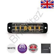 LED Warnleuchte, Grill, Richtungs-, UK Verkäufer, 6 3W, Super Bright, Weiß