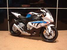 1:12 BMW S1000RR S1000 Modelo De Juguete Calidad Fantástica Superbike Motorad fábrica Hp