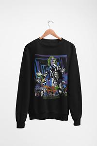 Beetlejuice Jumper Halloween Costume Movie Sweatshirt 80's 90's Cult Classic 2