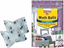 Moth Balls con Odore Fresco Lino Palla uccide le falene larve e uova in armadi