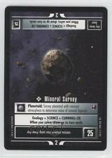 1998 Star Trek Customizable Card Game: #NoN Mineral Survey Gaming 0j0