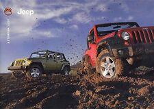 JEEP WRANGLER Sahara Sport Rubicon Cabrio Prospekt 2007 ++++++++++++++++++++++++