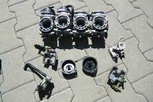 Suzuki SRAD GSX 750 GSXR Vergaser Vergasereinheit Vergaserbatterie Mikuni Anlage