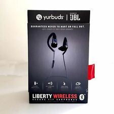 Écouteurs noirs bluetooth sans fil sports