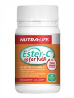 Nutralife-Ester-C For Kids 60 Chewable Tablets