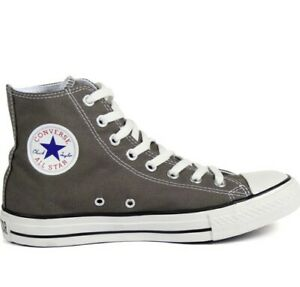 Converse Chuck Taylor All Star High Top Unisex Shoes Charcoal Men's Size 13
