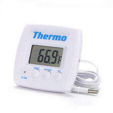 Digital LCD Temperature Room Thermometer Weather Stations Sensor Meter Gauge