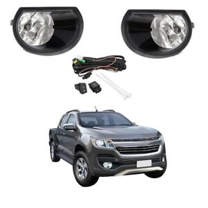 Fog Light Kit for Holden Colorado RG Series 2 2016-2018 W/Wiring&Switch