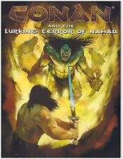 Mongoose Conan RPG 1st Ed Conan and the Lurking Terror of Nahab Softcover