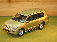 Lexus LX570 In Gold 1/43rd Scale