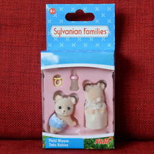 Sylvanian Families FIELD MOUSE TWIN BABIES Flair UK Retired 4179 Calico Critters