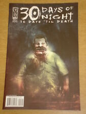 THIRTY 30 DAYS OF NIGHT 30 DAYS TIL DEATH #2 RI COVER 2008 IDW BEN TEMPLESMITH