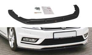 FRONT SPLITTER FOR VW PASSAT B7 R-LINE (2010-2014)