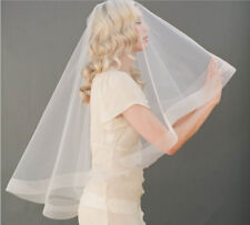 Wedding Veils Bridal Veil with Comb 2 Layers Bride Accessories Formal 2 Tiers