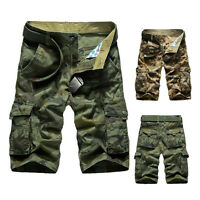 New men Shorts Casual Army Cargo Combat Camo Camouflage Sports Short Pants