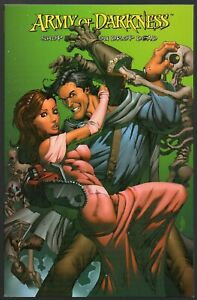 Army Of Darkness: Shop Till You Drop Dead TPB Collects #1-4 Ale Garza Cover
