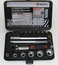 Würth 1/4 Zoll Multisteckschlüssel Sortiment Mini 23 tlg. Art-Nr. 09651123